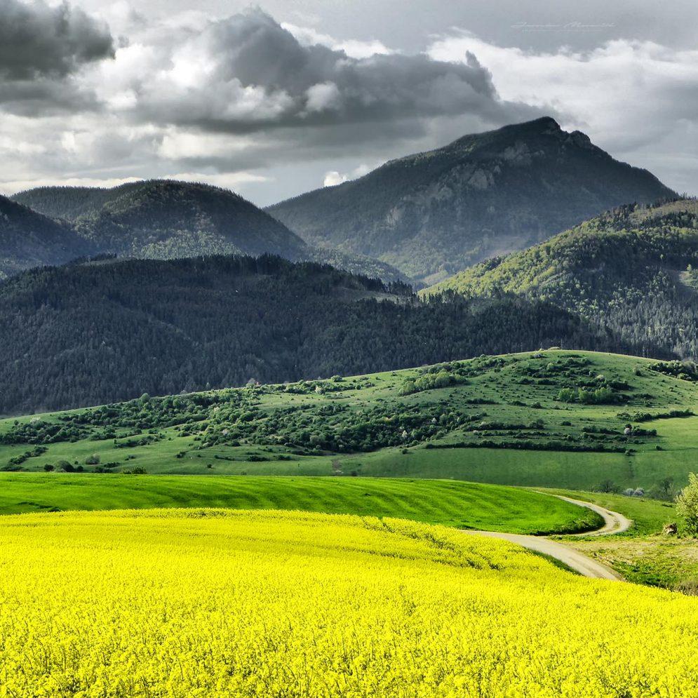Hill Choč in region Liptov, Slovakia