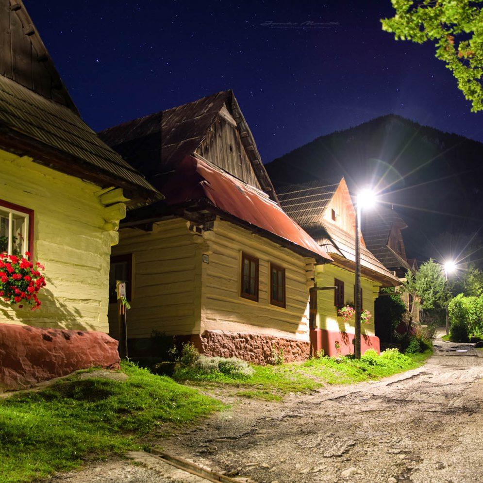 Unesco village Vlkolínec, Slovakia