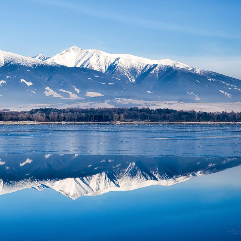 West Tatras mountains & reservoir Liptovská Mara, Slovakia