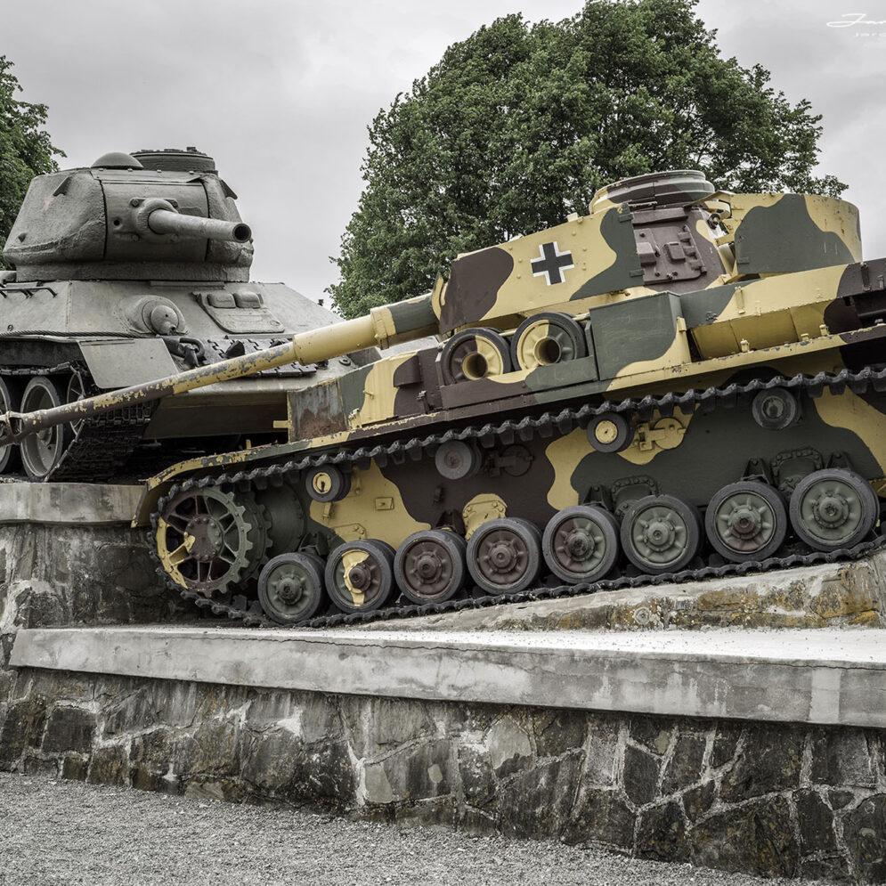 Czechoslovak Army Corps Monument, Dukla