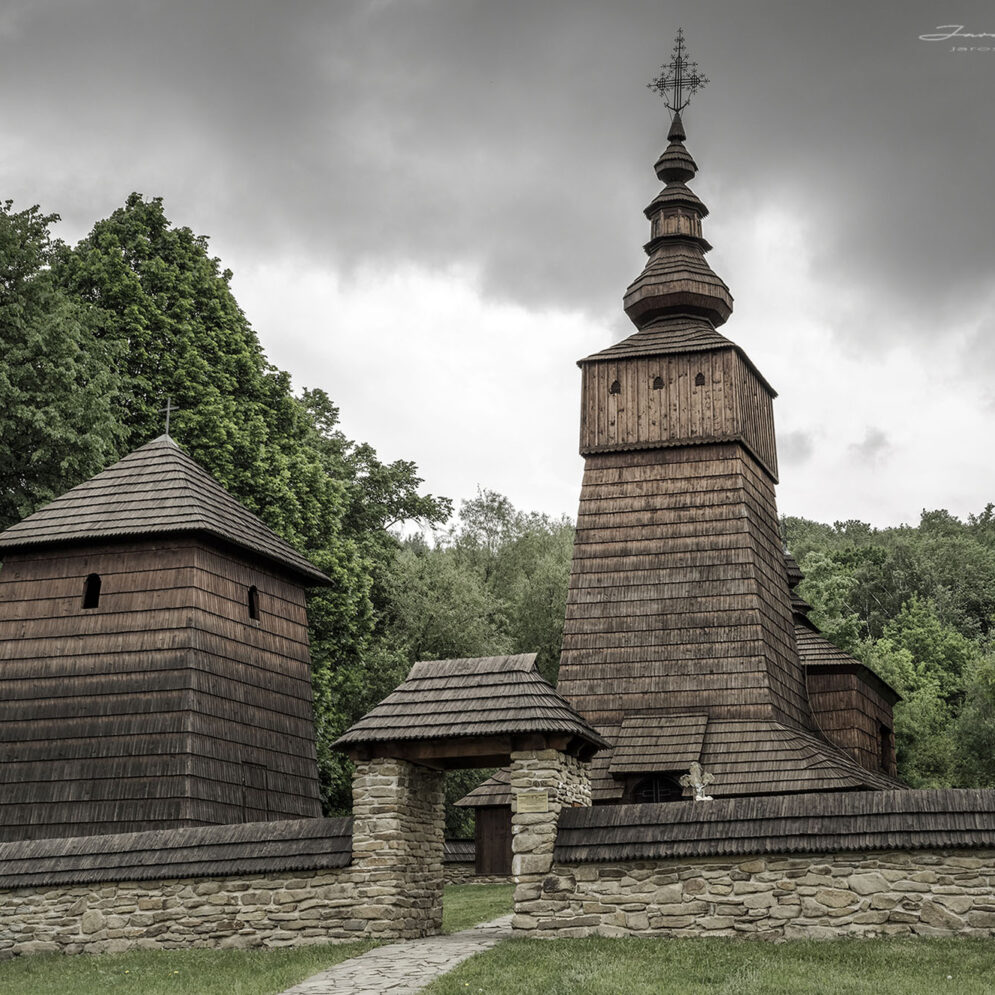 Wooden church in village Potoky, Slovakia