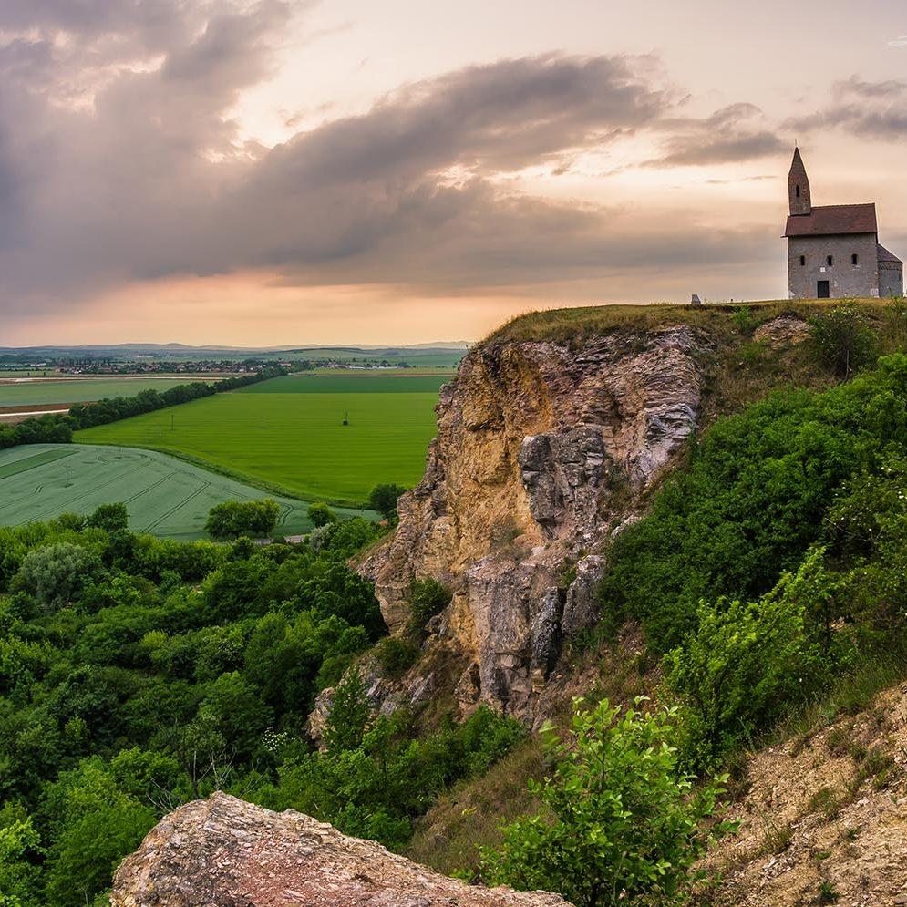 Dražovce church, Slovakia
