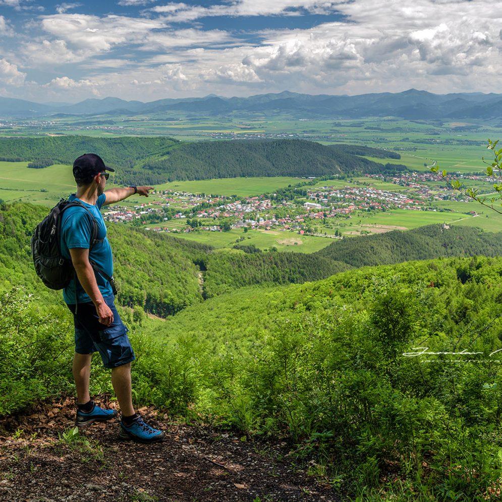 View from Kláštorská vyhliadka
