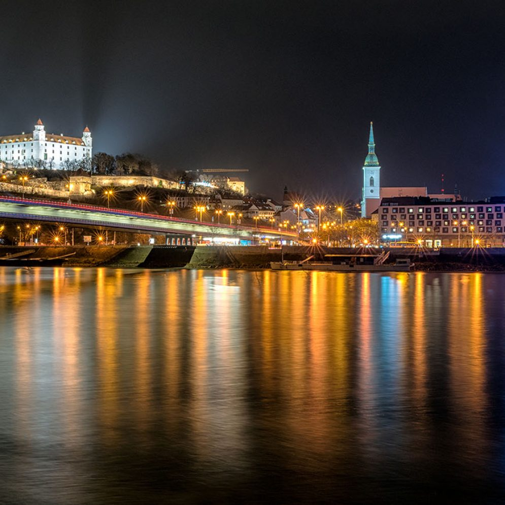 Bratislava panorama, Slovakia