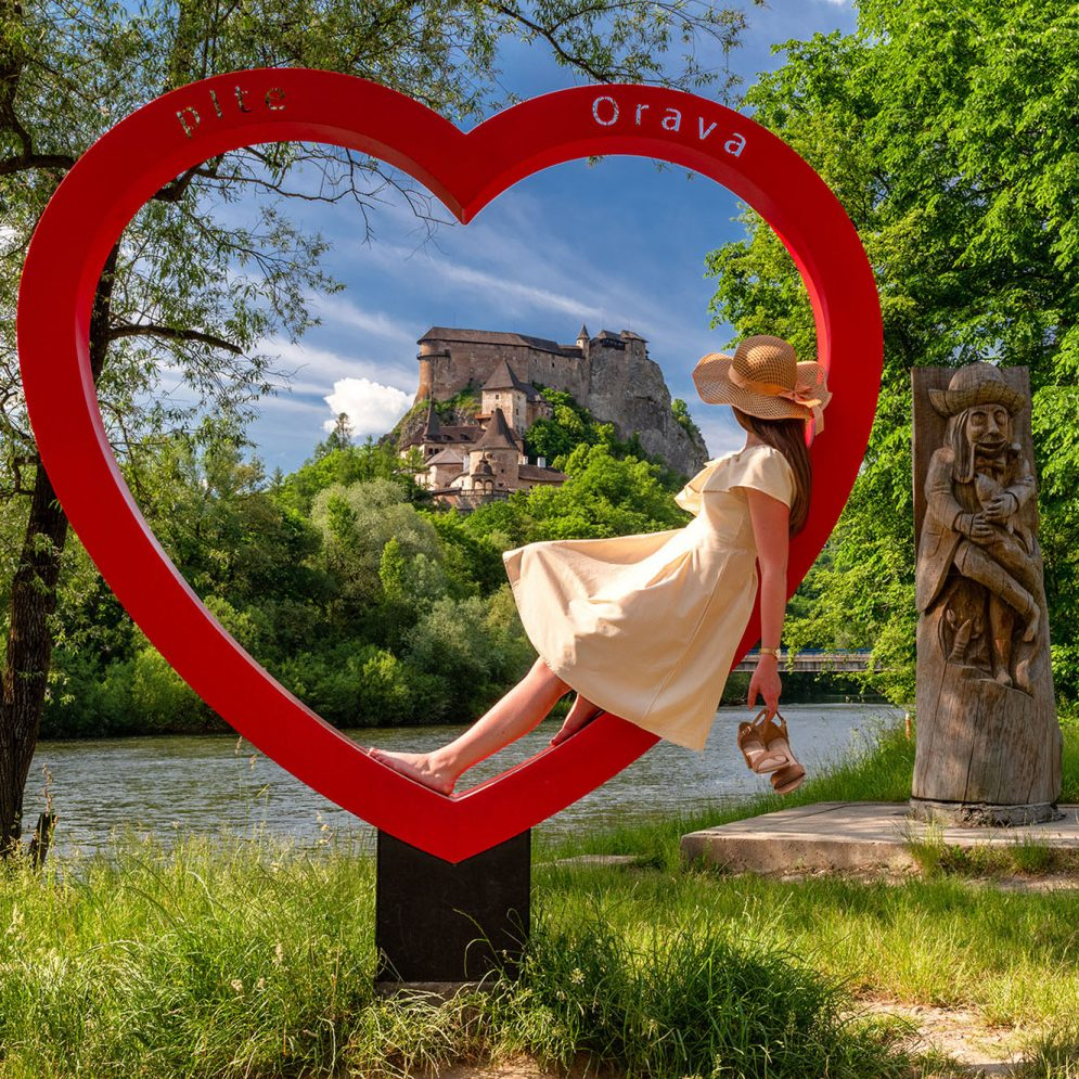 Heart of Orava - Oravsky Podzamok