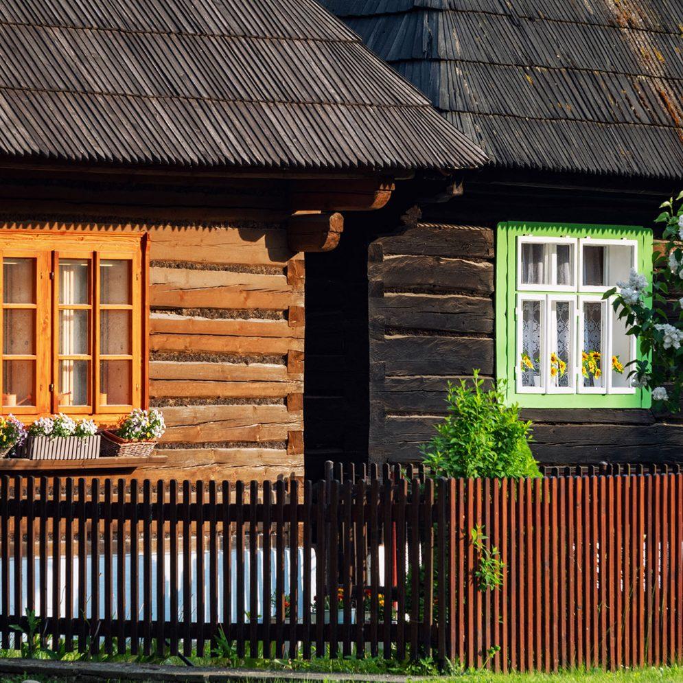 Podbieľ - Bobrova raľa - reservation of folk architecture