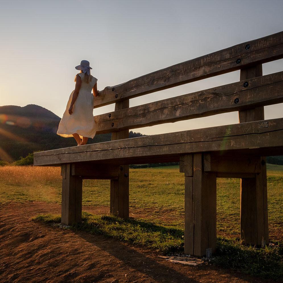Gardeon XXL bench, Kláštor pod Znievom