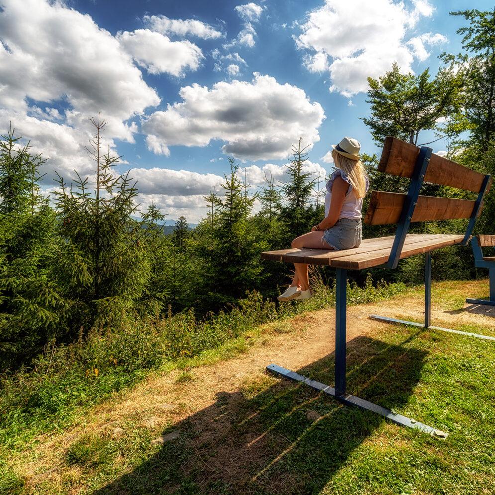 XXL bench in Snowparadise - Veľká Rača Oščadnica