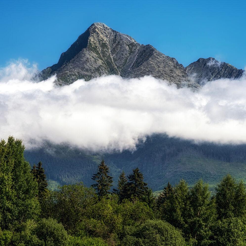 Peak Kriváň, High Tatras mountains
