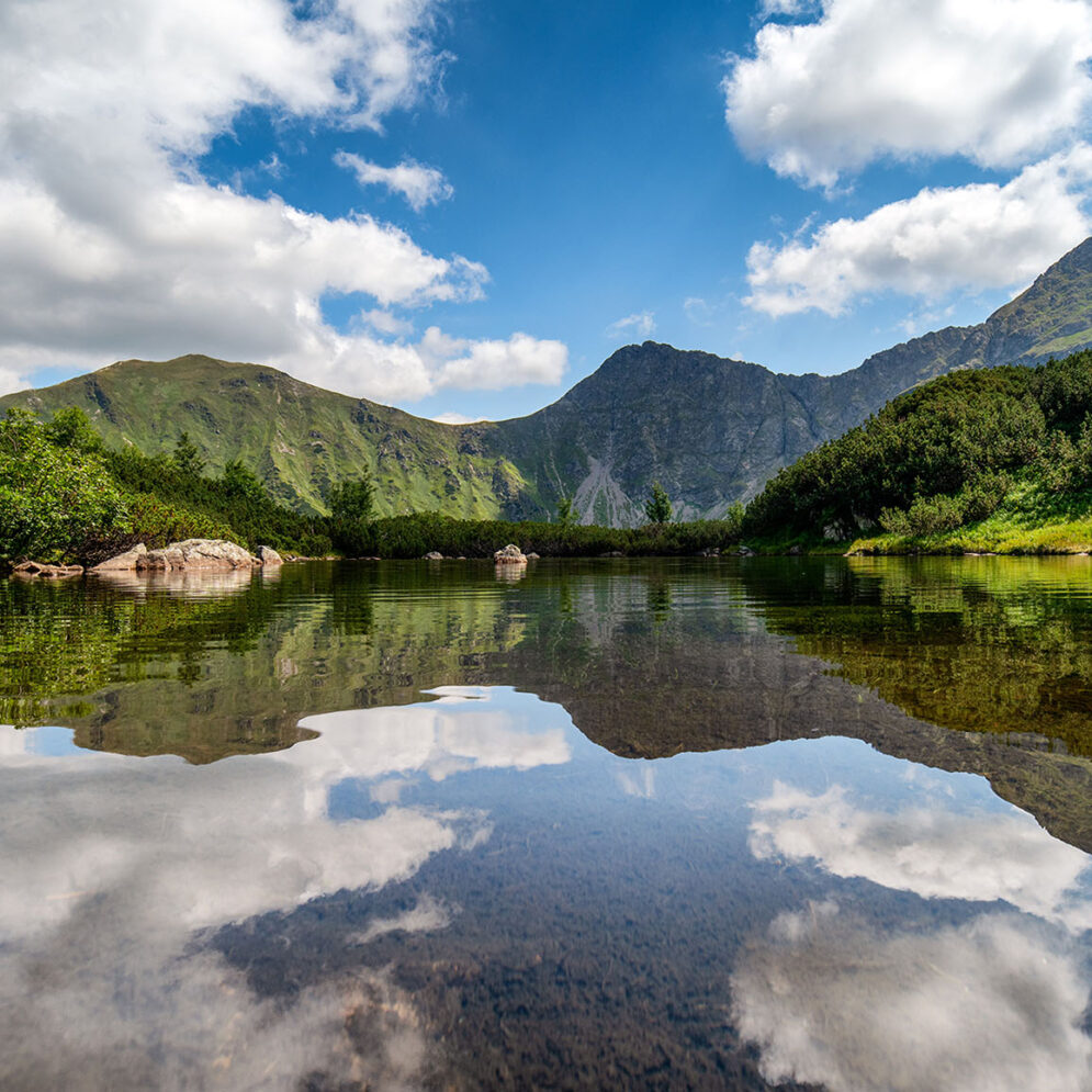 Tarn Roháčske plesá & Volovec - Ostrý Roháč - Plačlivé in Western Tatras