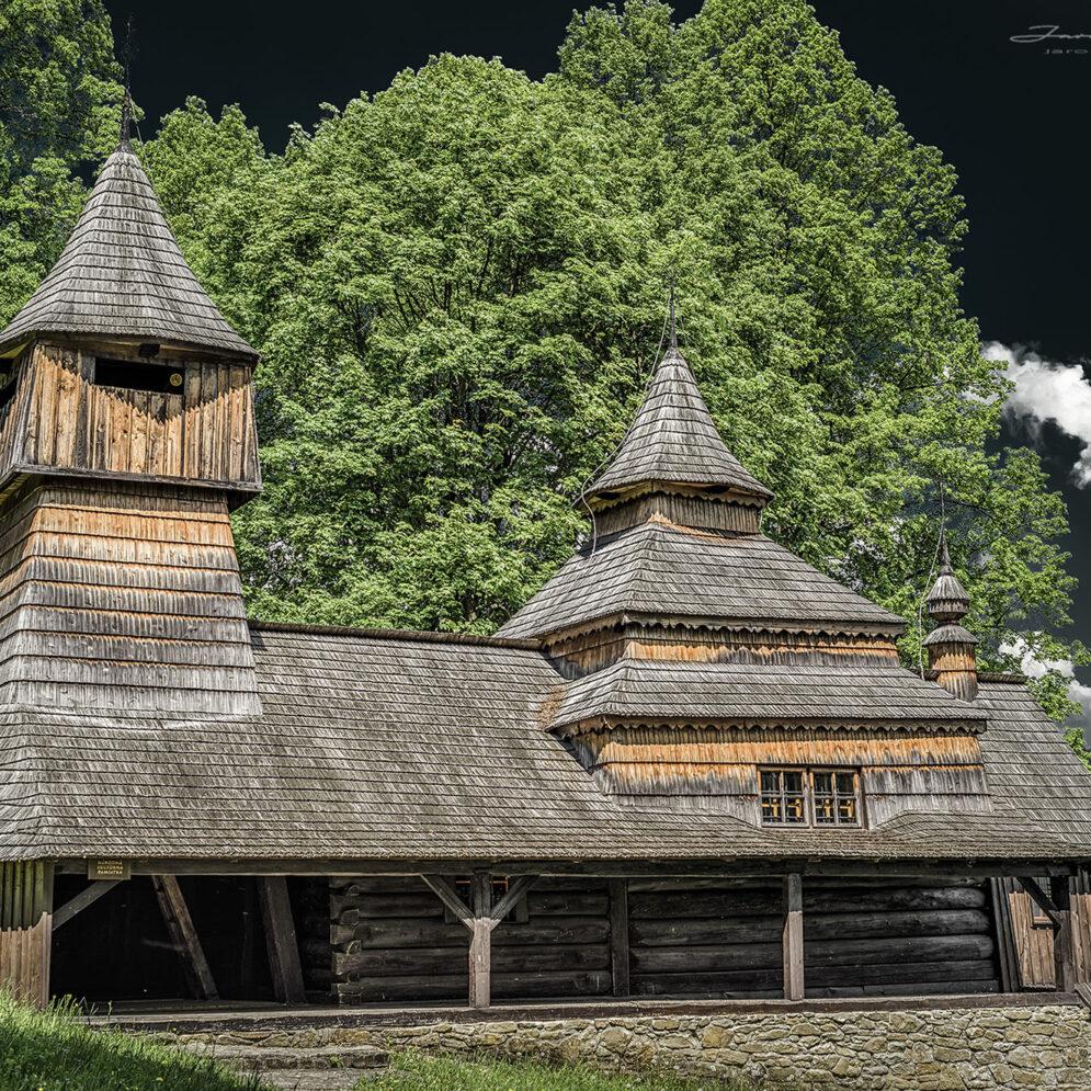 Wooden church in Lukov - Venécia